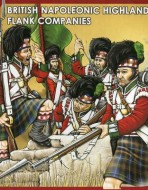 Британская армия. Шотландцы. Фланговые роты. 1815 г.