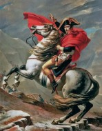 Магнит. Наполеон на перевале Сен-Бернар.