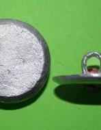 Пуговица плоская. Большая, 31 мм. XVIII в.