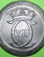 Пуговица шведская. Большая 36 мм. XVIII в.