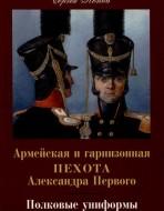Армейская и гарнизонная пехота Александра Первого. Полковые униформы.