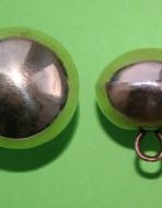 Пуговица круглая 21 мм. XVII — XVIII вв.