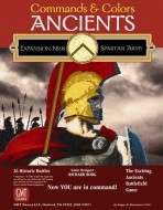 Commands & Colors. Ancients. The Spartan Army. Expansion N 6.
