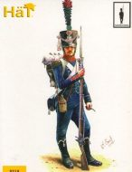 8219 Французская легкая пехота. Егеря. Наполеоновская эпоха. 1:72