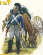8232 Вюртембергская артиллерия Наполеоновская эпоха. 1:72