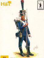 8252 Французская легкая пехота. Егеря.(командный набор). Наполеоновская эпоха. 1:72