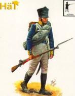 8254 Прусская линейная пехота (в атаке). Наполеоновская эпоха. 1:72