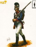 9313 Баварская линейная пехота (на марше). Наполеоновская эпоха. 1:32