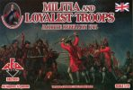 RedBox. Militia and Loyalist troops
