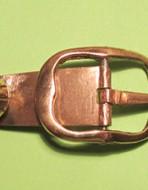 Пряжка башмачная. XVII век. 37х27