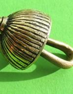 Пуговица «гирька». Диаметр 18 мм. XVII век