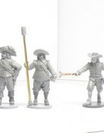 Артиллеристы XVII век. набор 1501