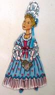 Магнитный набор «Девушка XVIII век»