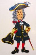 Магнитный набор «Мужчина XVIII век»