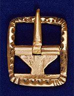 Пряжка для кюлот. XVIII — XIX вв. 31х26