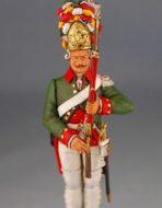 Гренадёр лейб гвардии 1786-1796 г.г. Россия.