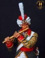 Флейтист Лейб-батальона Лейб-гв. Преображенского полка 1800-1801 г.