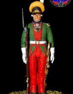 Обер офицер мушкетёрского полка 1786-1796 год. Россия.
