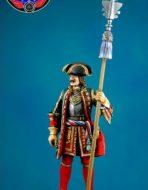 Обер-офицер лейб-гвардии Преображенского полка 1704-1712 гг.